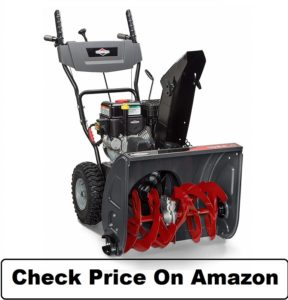 Briggs & Stratton 24 Dual-Stage Snow Blower Electric Start and 208 Snow Series Engine