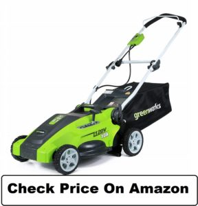 GreenWorks 16-Inch 10 Amp Corded Lawn Mower