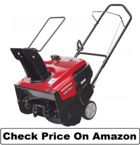 Honda Power Equipment HS720AMA 20 187cc Single-Stage Snow Blower