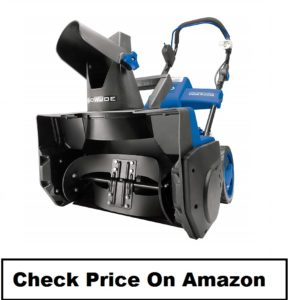 Snow Joe Cordless Single Stage Snow Blower 40 Volt