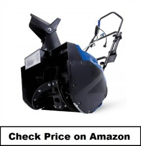 Snow Joe Electric Single Stage Snow Thrower