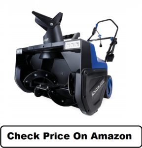 Snow Joe Electric Snow Thrower Dual LED Lights